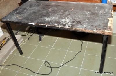 DSC 1842 400x262 Projekt: Stół warsztatowy