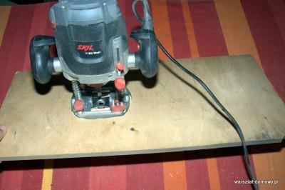 DSC 0168 400x266 Jak zrobić stolik do frezarki górnowrzecionowej
