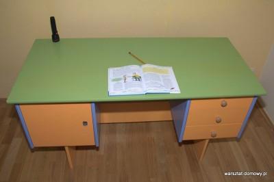 DSC 0169 400x266 Odnawiam biurko dla dziecka