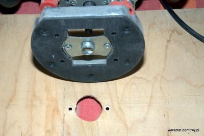 DSC 0173 400x266 Jak zrobić stolik do frezarki górnowrzecionowej