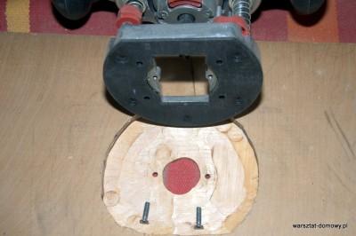 DSC 0176 400x266 Jak zrobić stolik do frezarki górnowrzecionowej