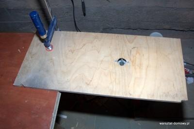 DSC 0181 400x266 Jak zrobić stolik do frezarki górnowrzecionowej