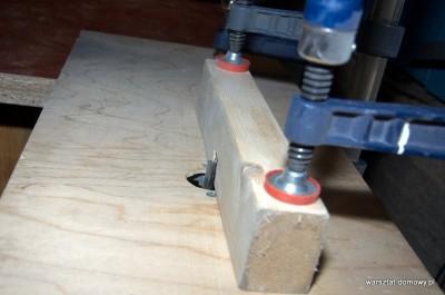 DSC 0191 400x265 Jak zrobić stolik do frezarki górnowrzecionowej
