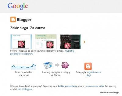 00 blogger 400x314 Jak założyć własnego bloga   cz.1