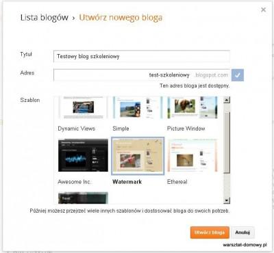 02 tytul bloga 400x370 Jak założyć własnego bloga   cz.1