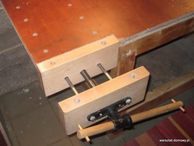 IMG 0625 400x300 Instalacja imadła czołowego do stołu warsztatowego   cz. 2