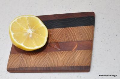 DSC 0411 400x265 Deska do krojenia z kolorowego drewna