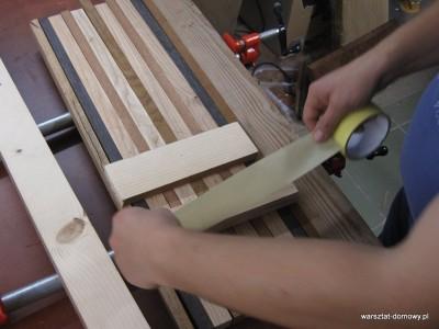 IMG 0838 400x300 Deska do krojenia z kolorowego drewna