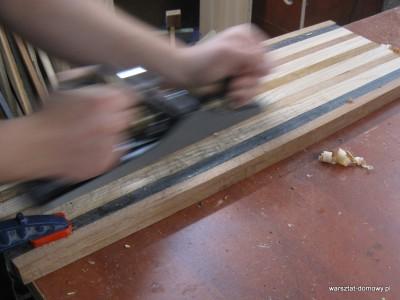 IMG 0871 400x300 Deska do krojenia z kolorowego drewna