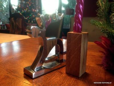 2013 12 24 14.17.35 400x300 Projekt świąteczny   świeczniki na stół wigilijny