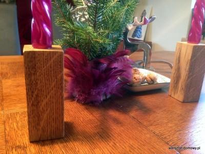 2013 12 24 14.18.17 400x300 Projekt świąteczny   świeczniki na stół wigilijny