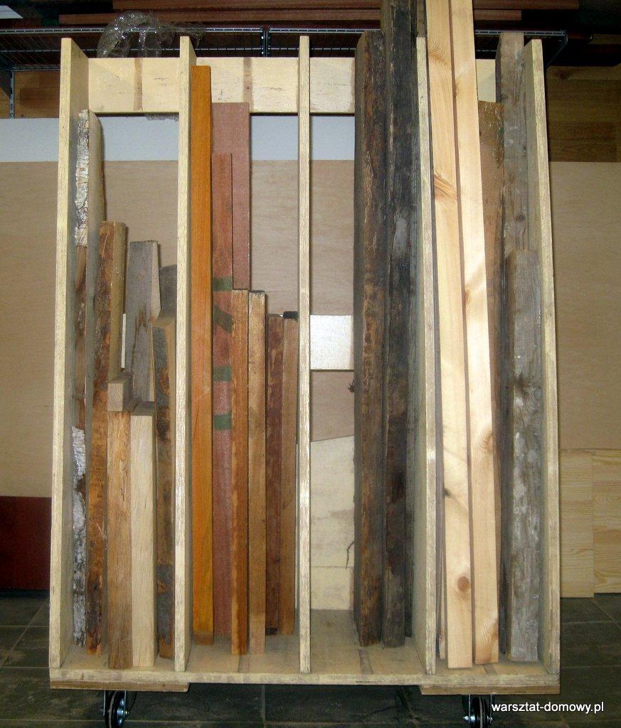 Drewno do projektów stolarskich