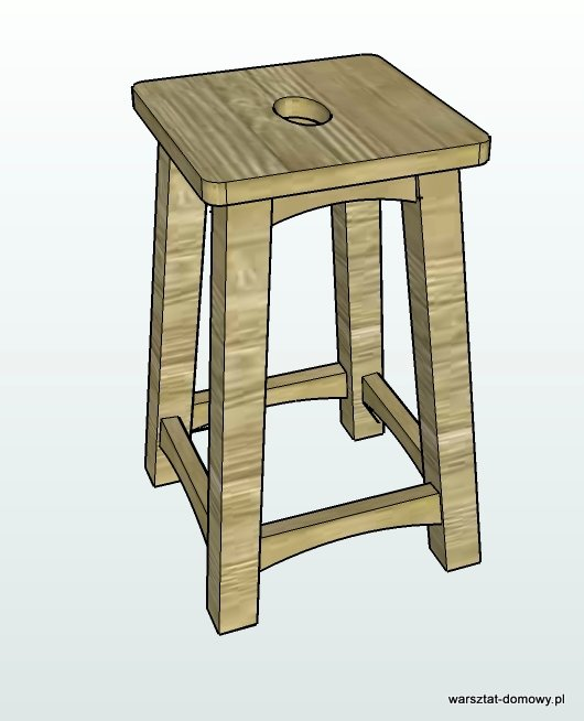 stolek warsztatowy - projekt