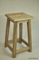 DSC 0339 132x200 Stołek barowy z drewna orzechowego