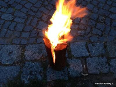 IMG 2964 400x300 Szwedzka pochodnia czyli prosty sposób na klimatyczne pochodnie