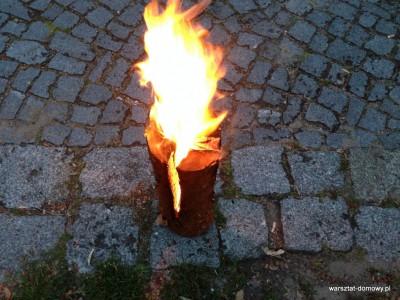 IMG 2965 400x300 Szwedzka pochodnia czyli prosty sposób na klimatyczne pochodnie
