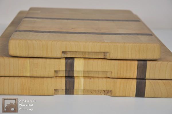 DSC 0083 600x398 Deska do krojenia dla Pani Marty z buku, czereśni i orzecha