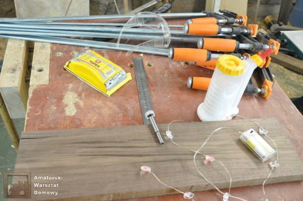 DSC 0054 600x398 Składana podstawka na świąteczny stół   pomysł na prezent