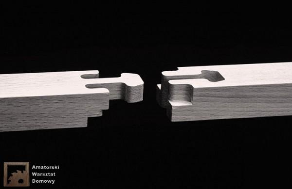 gooseneck 2 600x390 Pięćdziesiąt połączeń stolarskich   Flexible Stream