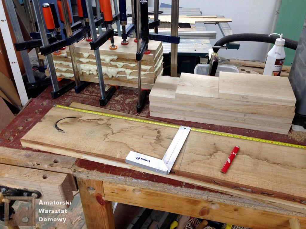 IMG 5481 1024x768 Dębowy stołek według projektu pani Joanny