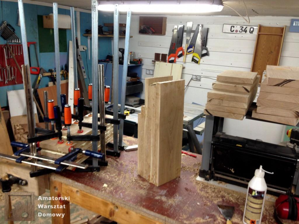 IMG 5490 1024x768 Dębowy stołek według projektu pani Joanny