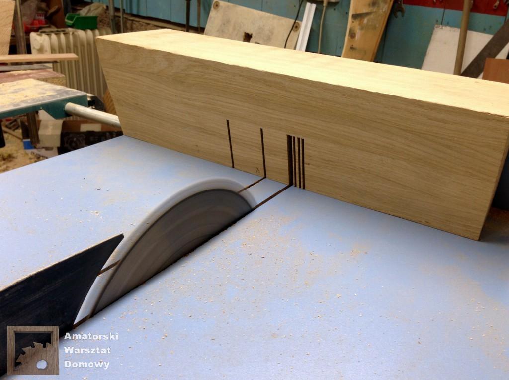 IMG 5575 1024x764 Dębowy stołek według projektu pani Joanny