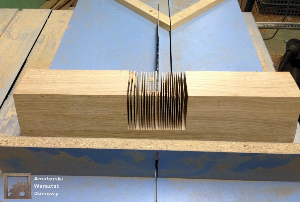 IMG 5576 1024x689 Dębowy stołek według projektu pani Joanny