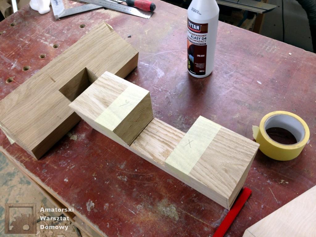 IMG 5599 1024x768 Dębowy stołek według projektu pani Joanny