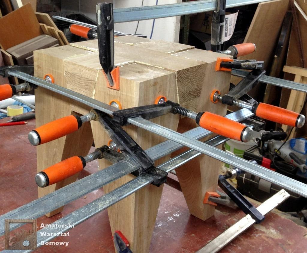 IMG 5679 1024x845 Dębowy stołek według projektu pani Joanny